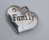 Personalised Family Heart Christmas Tree Decorations - Elegance Style